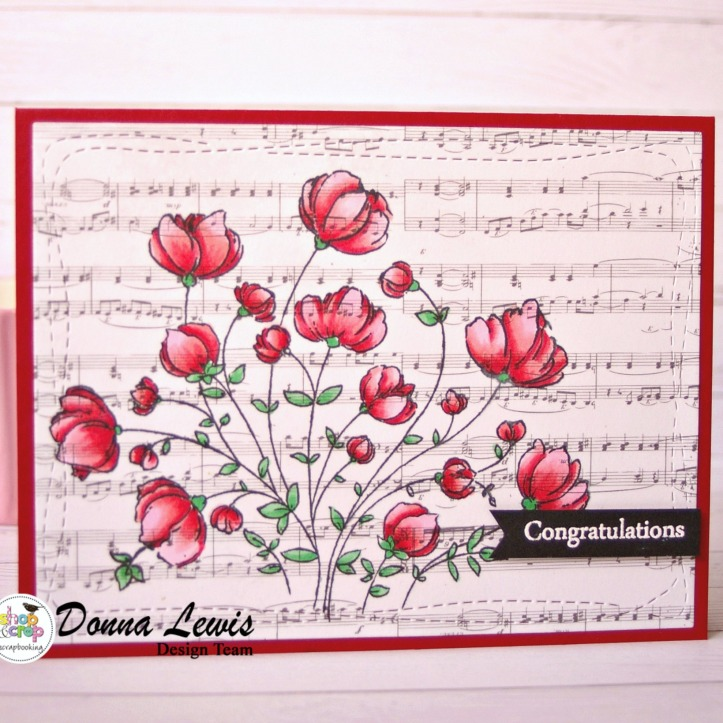 music wildflowers card-4